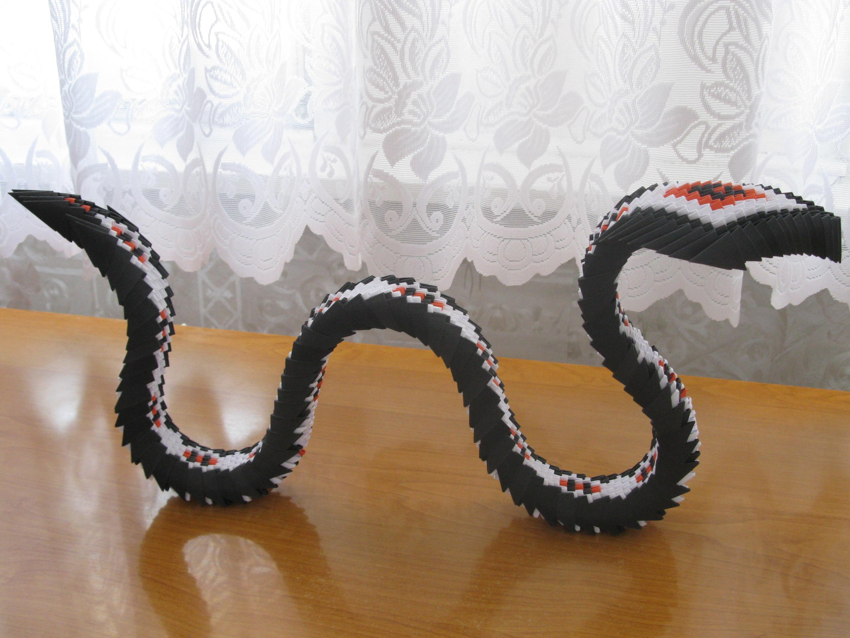 Origami modułowe – Wąż | Origami Modułowe - photo#31
